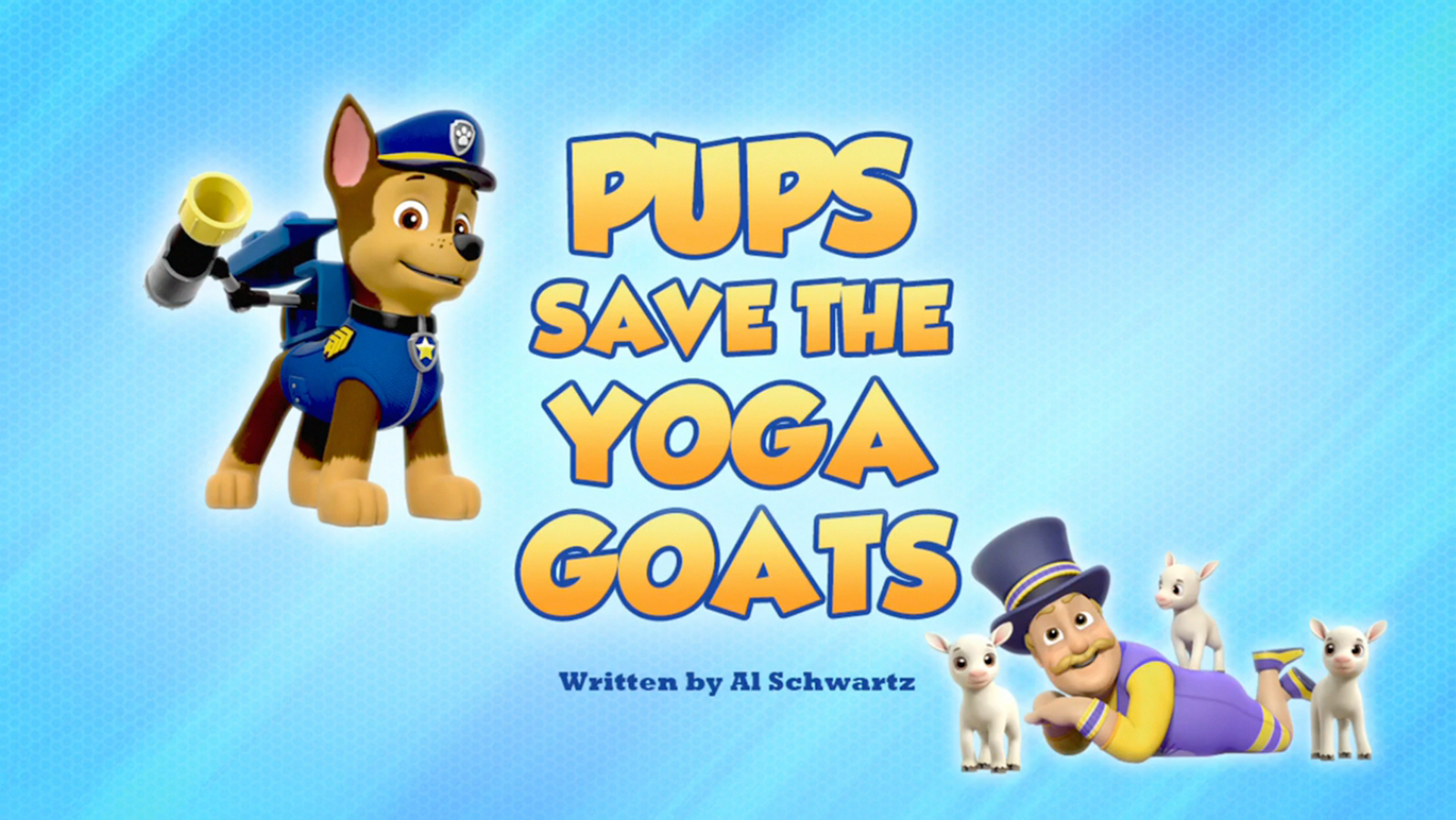 Pups Save the Yoga Goats