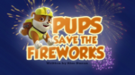 Pups Save the Fireworks (HD)