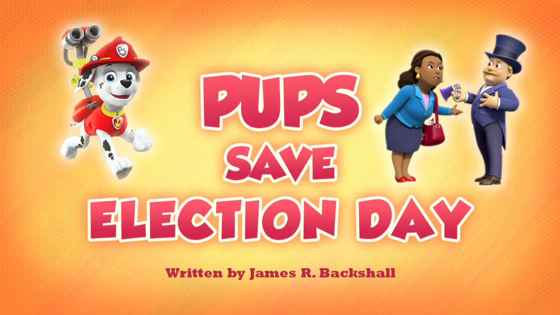 Pups Save Election Day