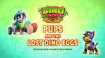 Dino Rescue- Pups and the Lost Dino Eggs (HQ)