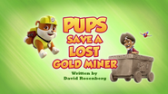 Pups Save a Lost Gold Miner (HQ)