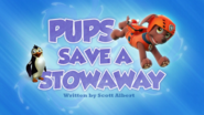 Pups Save a Stowaway (HD)