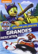 PAW Patrol Brave Heroes, Big Rescues DVD Spain