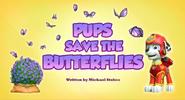 Pups Save the Butterflies