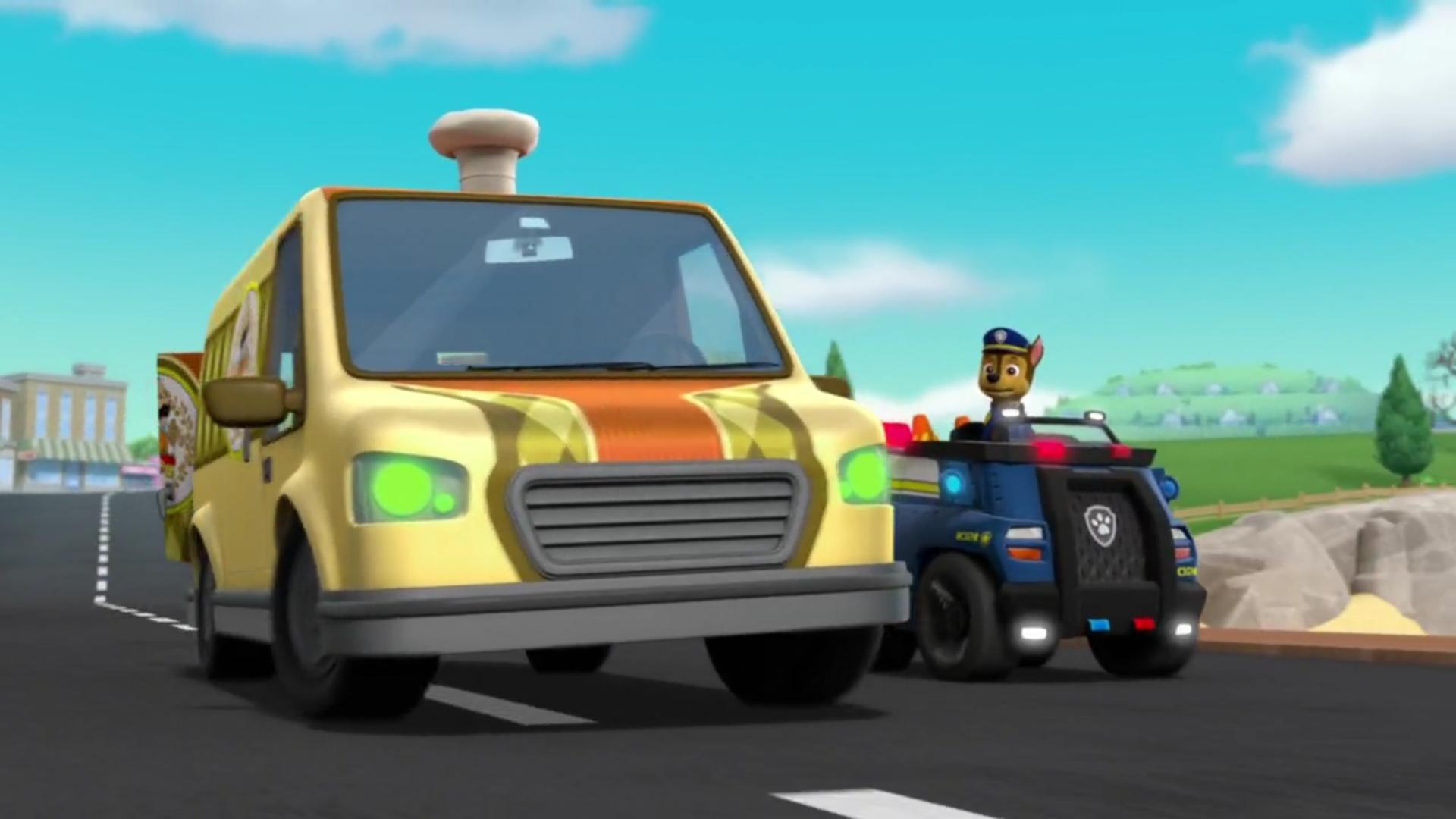 Mr. Porter's Delivery Van