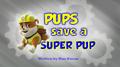 Pups Save A Super Pup