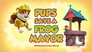 Pups Save a Frog Mayor (HQ)