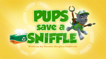 Pups Save a Sniffle (HD)