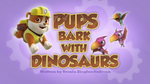 Pups Bark with Dinosaurs (HD) (2)
