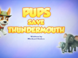 Pups Save Thundermouth