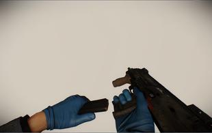 MP7 reloading