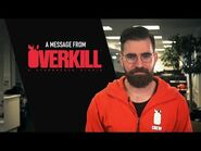 PAYDAY 2 A message from Overkill