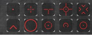 Reticles red