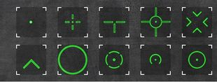 Reticles green