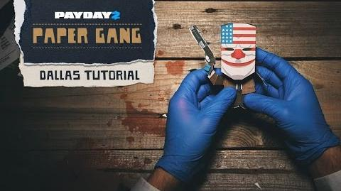 PAYDAY 2 Paper Gang Tutorial