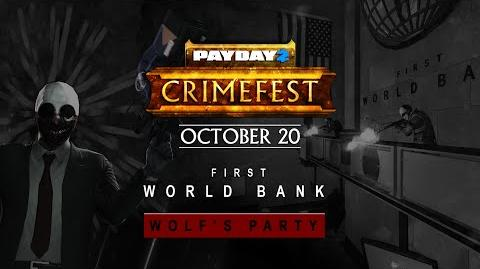 PAYDAY 2 Wolf's Party Trailer