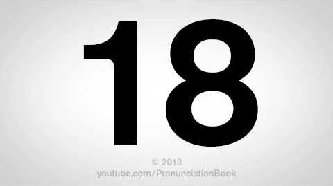 How to Pronounce 18