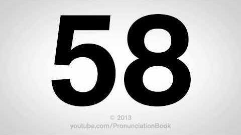 How to Pronounce 58-0