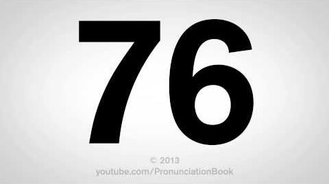 How to Pronounce 76-0