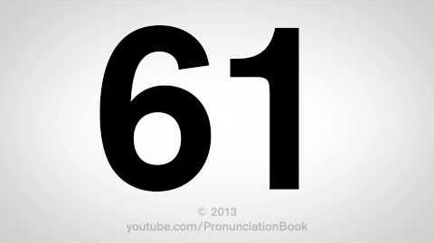 How to Pronounce 61-3