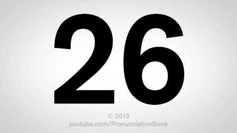 How to Pronounce 26