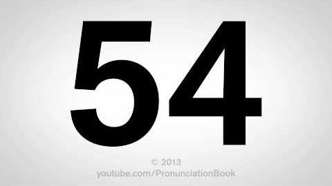 How to Pronounce 54-0