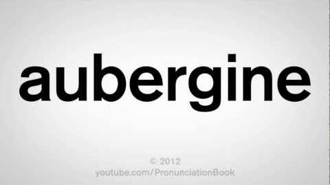 How to Pronounce Aubergine