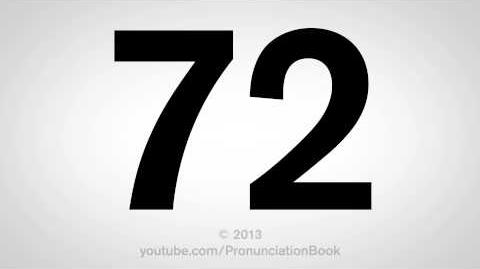 How to Pronounce 72
