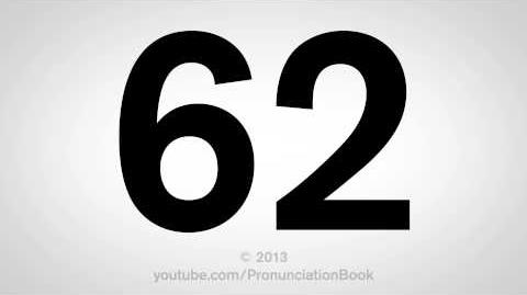 How to Pronounce 62-0