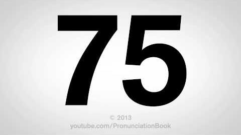 How to Pronounce 75-0