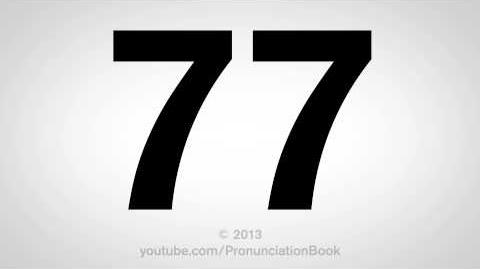 How to Pronounce 77-1