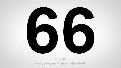 How to Pronounce 66-0