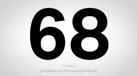 How to Pronounce 68-0