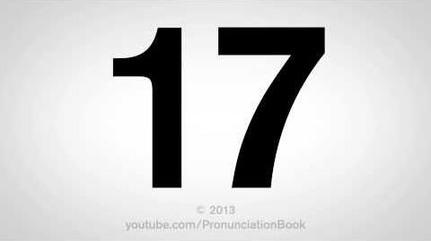 How to Pronounce 17