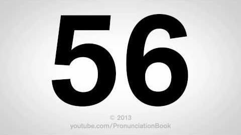 How to Pronounce 56-1