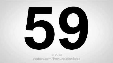 How to Pronounce 59-1