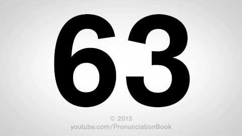 How to Pronounce 63-0
