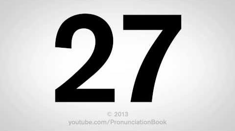 How to Pronounce 27