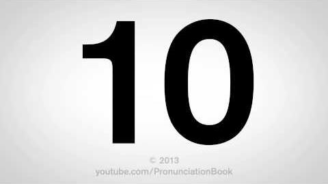 How to Pronounce 10