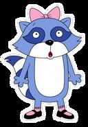 Pinch raccoon 3