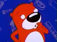 Peanut Otter thinking