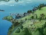 Ducking Out on Valentine's Day