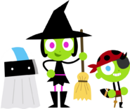 PBS Kids Digital Art - Halloween Costumes (2013)
