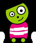 PBS Kids Digital Art - Cute Dot (1999)