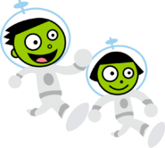 PBS Kids Digital Art - Astronauts (1999)