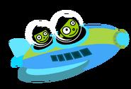 PBS Kids - Dot and Dash Riding a Rocket