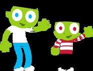 PBS Kids Digital Art - Dash and Little Dot (2013)