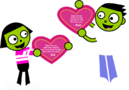 PBS Kids Digital Art - A Valentine For Each Other