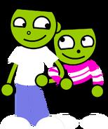PBS Kids Digital Art - Arms Linked (1999)