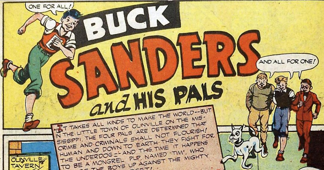 Buck Sanders and his Pals